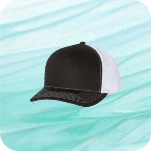 Flat Bill Five-Panel Trucker Cap Thumbnail