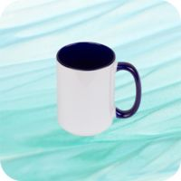 Two Tone Mug 15oz - Royal Blue Thumbnail