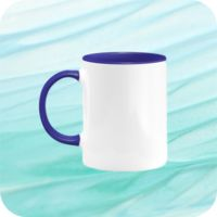 Two Tone Mug 11oz - Royal Blue Thumbnail