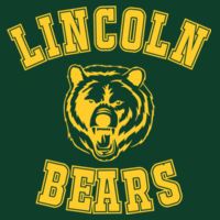 Lincoln Bears - HD Cotton Short Sleeve T-Shirt Design