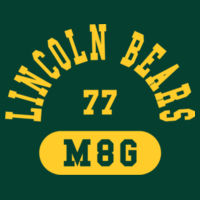 Lincoln Bear M6G - NuBlend Crewneck Sweatshirt Design
