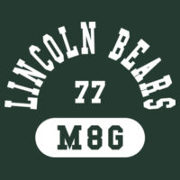 Lincoln Bear M6G - Performance T-Shirt Design