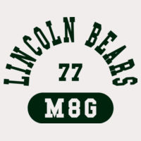 Lincoln Bear M6G - NuBlend Hooded Sweatshirt Design
