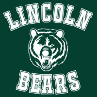 Lincoln Bears - NuBlend Hooded Sweatshirt Design